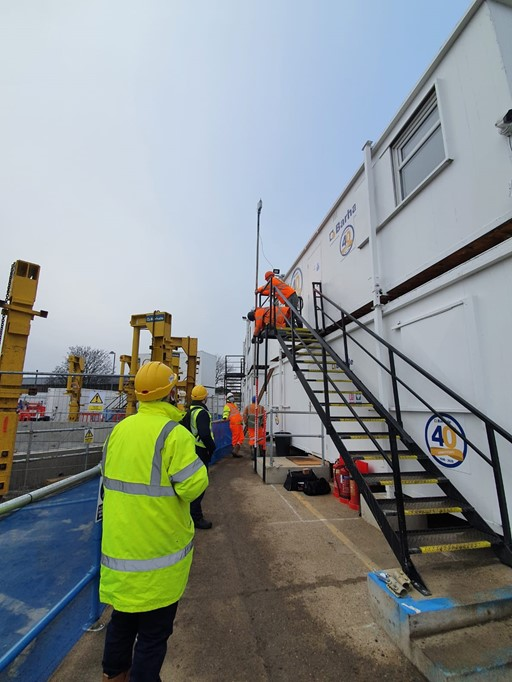 Installing the EMS beable beacon