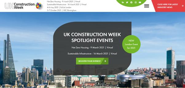 UK Construction Week Events Spotlight