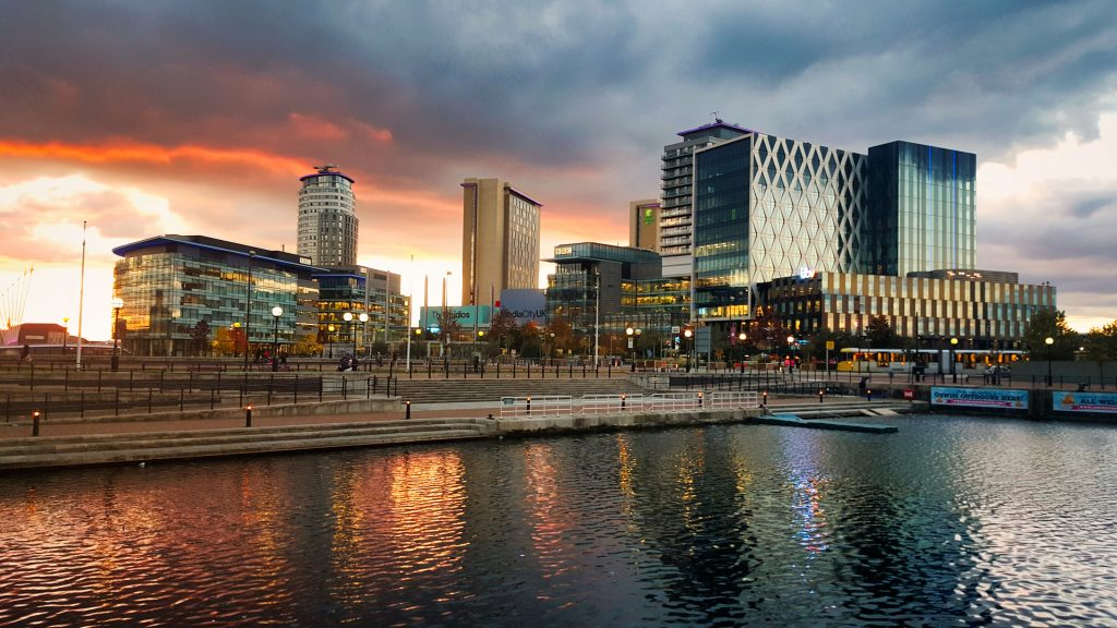 Manchester Skyscrapers Photo Credit Orry Verducci via unsplash